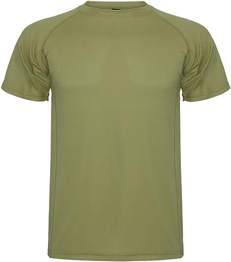 ROLY Camiseta técnica para Hombre Montecarlo, Kaki