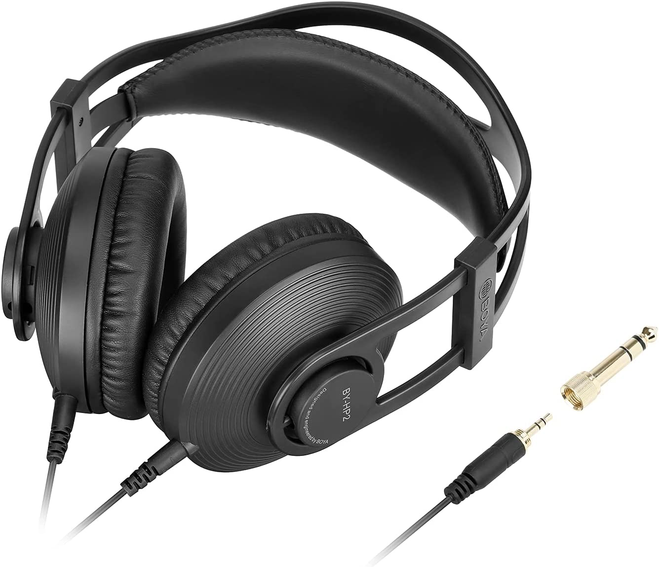 BOYA Monitor Over Ear Headphones Hybrid Active by-HP2 Noise Max 66% OFF Can Special sale item