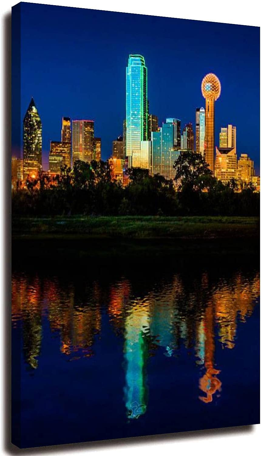 20x32inch Washington Mall Canvas Print Wall Art It is very popular Dalla Painting Downtown Pictures