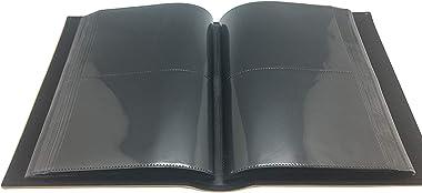 Longpro Imitation Leather Photo Album Slots album 200 Horizontal Insert Pockets Hold 4 x 6 Photos PU Cover Book Bound Alaska
