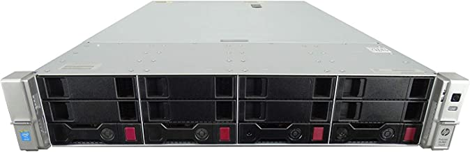 ProLiant DL380 Gen 9 4-Bay LFF 2U, 2X Xeon E5-2699 V3 2.3GHz 18 Core 45MB, 128GB DDR4, B140i RAID, 4X 960GB SSD, iLO 4, 10GB/40GB Network, 2X 500W PSUs, Rail Included (Certified Refurbished)