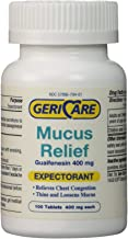 Gericare Mucus Relief-100 Tablets by Geri-Care