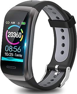 TagoBee TB14 Pulsera Actividad Fitness Trackers IP68 Waterproof Smart Band 1.14'' LCD Color Screen Sport Smart Brazalete c...