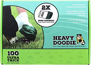 Paws/alcott Heavy Doodie Ultra-Thick Dog Waste Bags 100ct