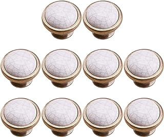4 Boutons de meuble en porcelaine//c/éramique,poign/ées pour meuble,tiroir,armoire