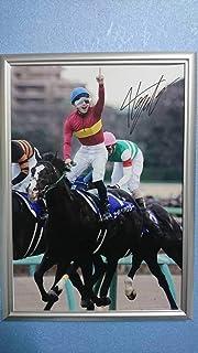 吉田隼人騎手直筆サインパネル ゴールドアクター 有馬記念 2015