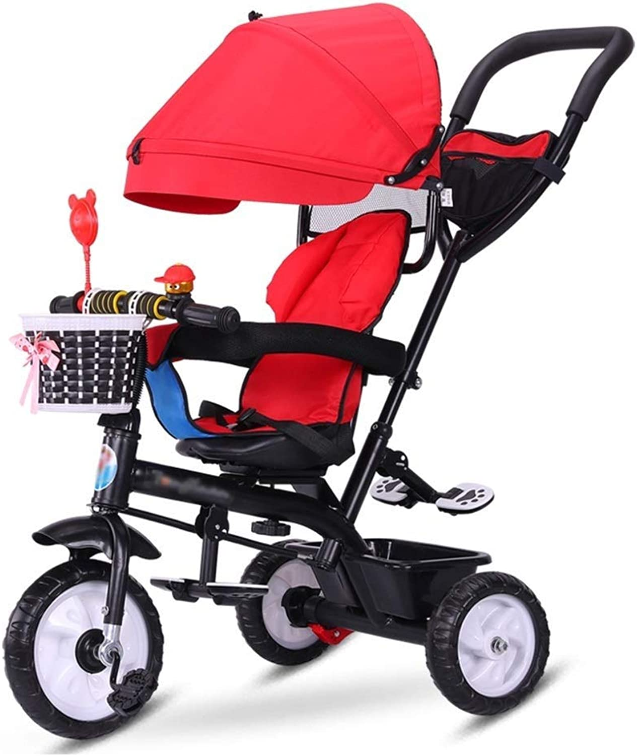 Baby cart Stroller 2-in-1 stroller travel system collapsible stroller with reversible base Tricycle
