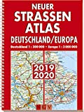 Neuer Straßenatlas Deutschland/Europa 2019/2020: Preis-Leistungs-Sieger 2019 bei AUTO BILD - Deutschland 1 : 300 000 . Europa 1 : 3 000 000