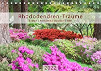 Rhododendren-Traeume, Blueten, Romantik, Azaleen, Edel (Tischkalender 2022 DIN A5 quer): Rhododendren-Bilder in bezaubernder Pracht (Monatskalender, 14 Seiten )