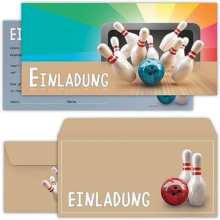 Ausdrucken bowling geburtstag kostenlos einladungen einladungskarten kindergeburtstag