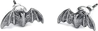 Bat Studs Earrings by Alchemy Gothic, England [Jewelry]