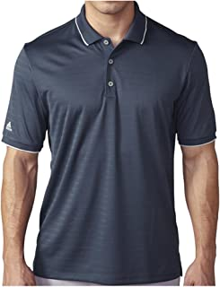 adidas Golf Men's Golf Climacool Tipped Club Polo Shirt