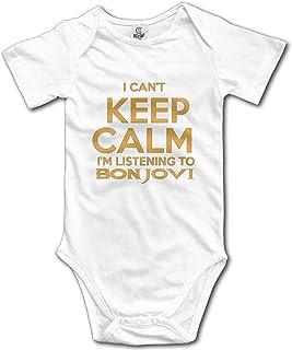 Axige888 Bon Jovi Slippery When Wet Unisex Baby Onesies Onesies