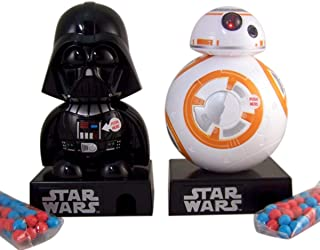 Star Wars Darth Vader and BB-8 Large Dispenser with Candy Pieces, 4.28 oz