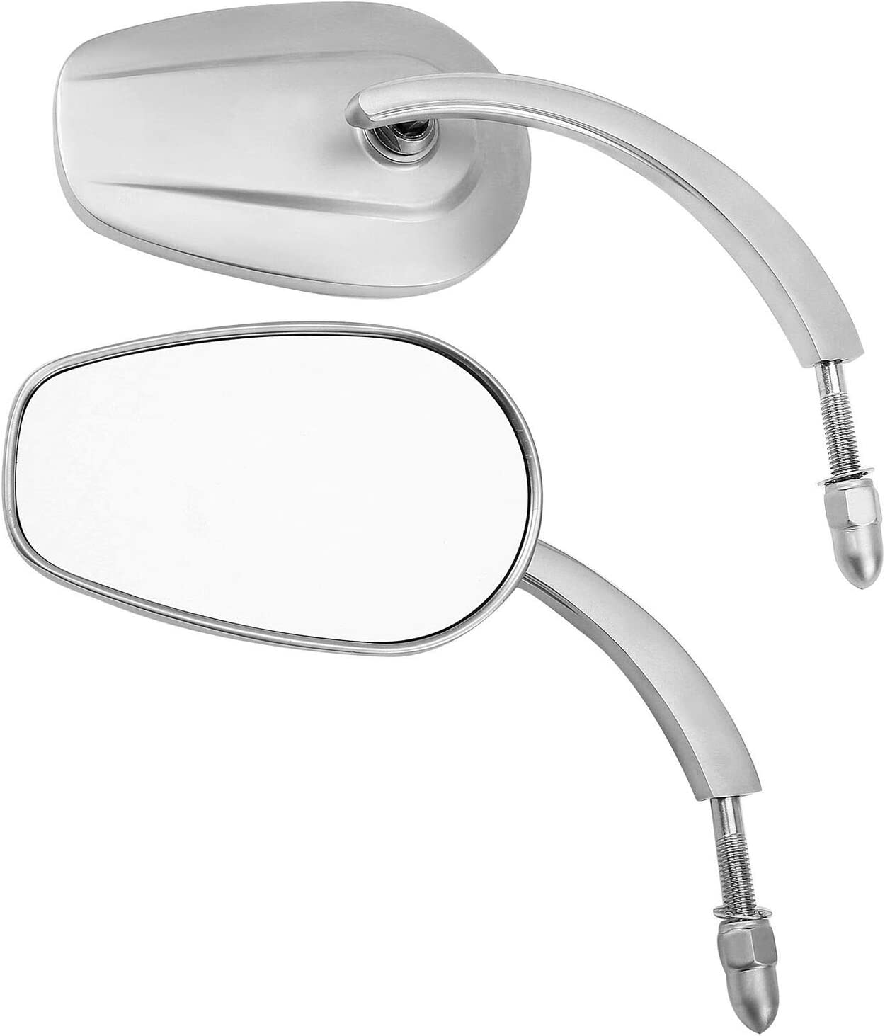 TCMT 8mm Threaded Rearview Side Mirrors Industry No. 1 Swit Fit For Over item handling Dyna Harley