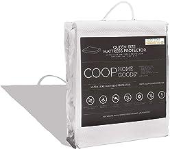 (Queen) - Lulltra Waterproof Mattress Protector by Coop Home Goods - Cooling Waterproof Hypoallergenic Topper- Queen Size ...