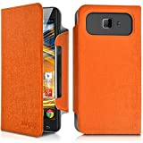 Seluxion-Universal Large Leather Flip Case for Archos 50