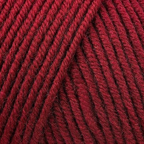 Lang Yarns Merino 120 Superwash 0163 dunkelrot