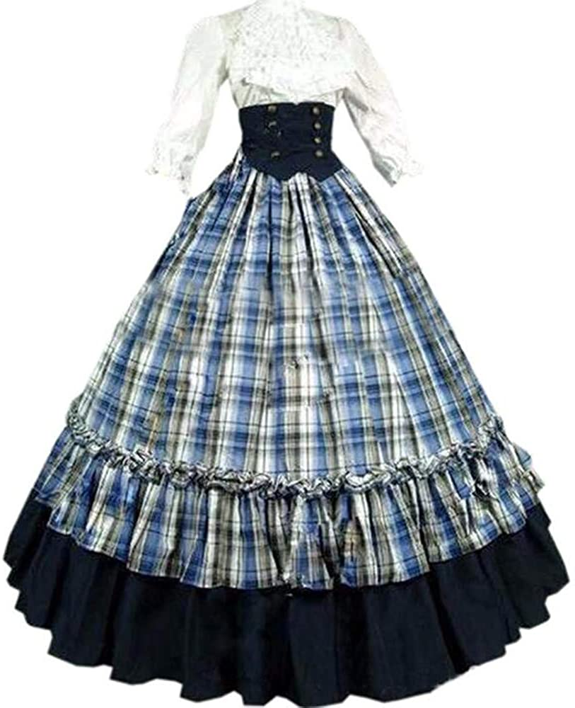 Sale I-Youth Civil War All stores are sold Dresses for Girl's 1800s Women Victorian