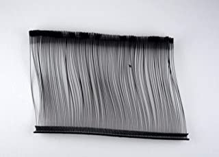 1000 Black Tag Gun Barbs (Fasteners) Combo 15, 25, 50, 75mm (250 Each) for Any Standard Price Labels Clothing Tagging Attachers