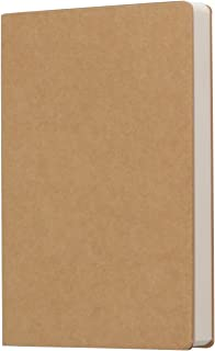 Kraft Cover Blank 100g Full Wood Paper Sketch Book - 112 Sheets / 224 Pages - 140 Millimeters by 210 Millimeters - 350gsm Kraft Paper Cover