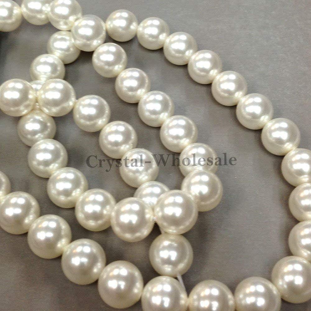 Under blast sales 100 pcs Swarovski 5810 Crystal Pearls 4mm PEARL 00 WHITE Max 81% OFF beads
