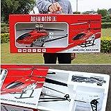 Lotees 3.5 canaux super Grand RC Helicopter Télécommande Avions Hélicoptère Drone Modèle électrique jouet avec LED Gyro Lumière intérieure for les enfants et adultes Garçons Filles Cadeaux Enfants jou