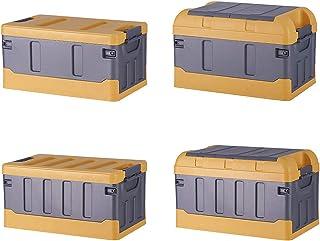 Boîte De Rangement Pour Voiture, Boîte De Rangement Pour Compartiment De Rangement, Double Boîte De Rangement Pliante Pour...