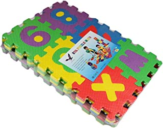 Colorful Puzzle 36pcs For Kids In Both Alphabet And Numeral Foam Play Mat Self-Assemble Baby Crawling Pad.