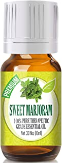 Sweet Marjoram Essential Oil - 100% Pure Therapeutic Grade Sweet Marjoram Oil - 10ml