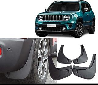 per Land Range Rover Evoque 2020 Anteriore Posteriore Paraspruzzi con Chiodi Fissaggio Vite GLFDYC 4Pcs Parafango Nero Flare Styling Mudguard Accessori Flaps Set Modellati