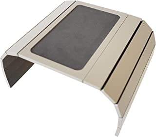 Meistar Global - Bandeja para sofá con base de EVA. Lados con peso. Se adapta a brazos de silla cuadrados. Fendy