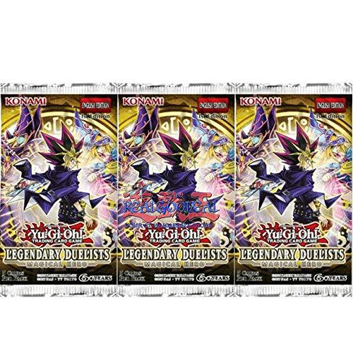 YuGiOh Legendary Duelist Magical Hero Booster Pack x3