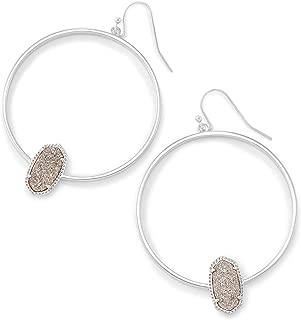 Elora Hoop Earrings Abalone Shell