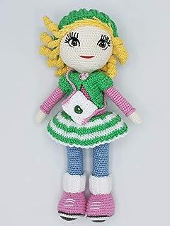 Super Cute Crochet / Crocket Doll made from Cotton Yarn