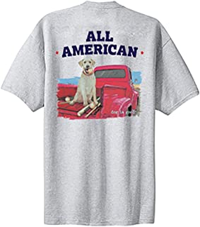 Dog is Good Men's All American T-Shirt - Great Gift for Dog Lovers