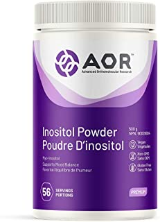 AOR INOSITOL POWDER 500g 56 Servings Vegan Gluten Free