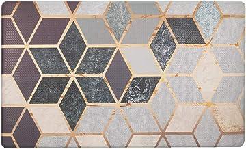 U'Artlines Anti Fatigue Kitchen Floor Mat, Comfort Heavy Duty Standing Mats, Ergonomic Non-Toxic Waterproof PVC Non Slip W...