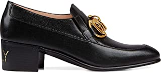 GUCCI Luxury Fashion Womens 588960D3V001000 Black Loafers | Fall Winter 19