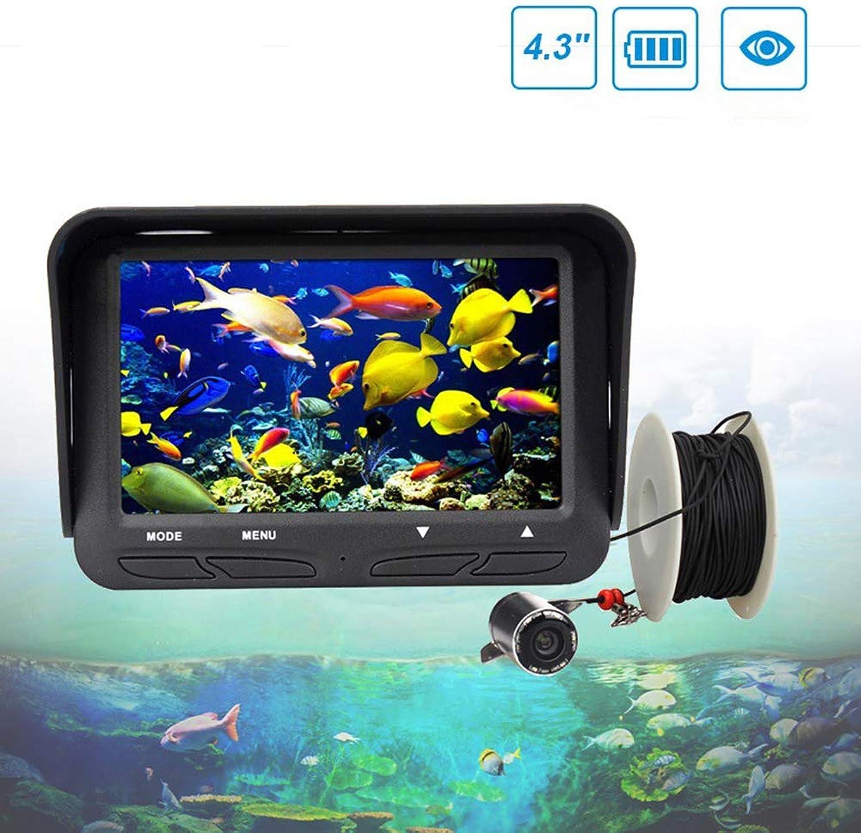 Portable Fischfinder HochauflSender 4,3-Zoll-Hochsee Fischereifisch 30-Meter-Unter Wasserkamera füR Schnelleres und PrZiseres Angeln