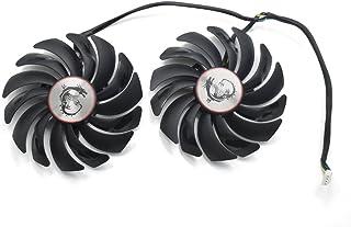 inRobert - Ventilador de refrigeración para Tarjetas gráficas de Doble rodamiento de Bolas de 95 mm para MSI GTX 1060 1070 1080 TI RX 470 480 570 580 Gaming Video Card Cooler