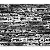 murando Fotomurales 150x105 cm XXL Papel pintado tejido no tejido Decoración de Pared decorativos Murales moderna Diseno Fotográfico ventana Piedras f-a-0315-a-d