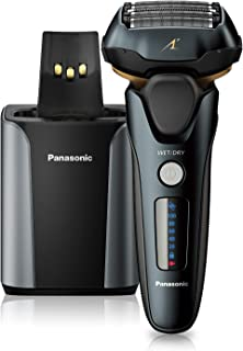 Panasonic Electric Razor for Men, Electric Shaver, ARC5 with Premium Automatic Cleaning and Charging Station, Wet Dry Shav...