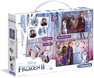 Clementoni 18057 Mini Edukit Frozen 2, Multicolour