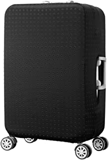 Travel Luggage Cover Washable Spandex Suitcase Cover, For 19-32 Inches Luggage (Black, S)