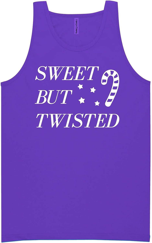 zerogravitee Sweet But Twisted Neon Purple Tank Top - XX-Large