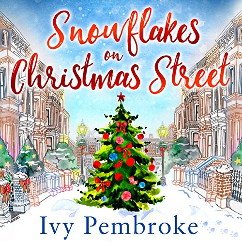Snowflakes on Christmas Street audiobook cover art
