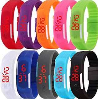 Best silicone bracelet led watch Reviews
