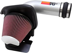 K&N Cold Air Intake Kit with Washable Air Filter:  2011-2018 Ford (Flex, Explorer, Taurus SHO) Turbo Ecoboost 3.5L V6, Polished Metal Finish with Red Oiled Filter, 69-3531TS