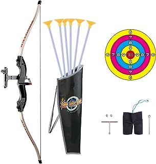 comprar comparacion BOROK Juego de Arco y Flecha, Kit de Deportes de Tiro al Aire Libre con Flechas y Objetivo para Niños